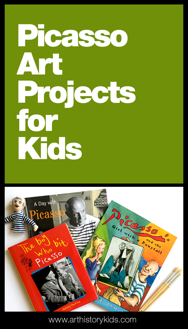 Picasso Art Projects for Kids - Exploring famous artists in your homeschool art curriculum? Find fun Picasso inspired art history activities for kids.