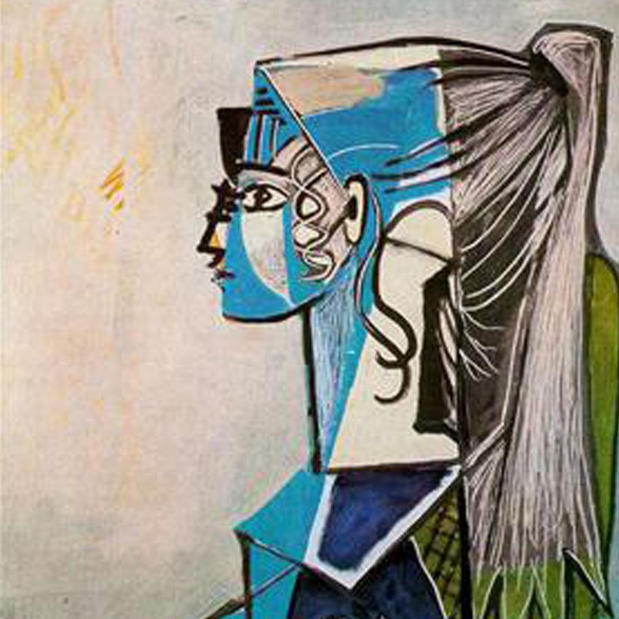 Pablo Picasso,   Sylvette,  1954 // June 2017