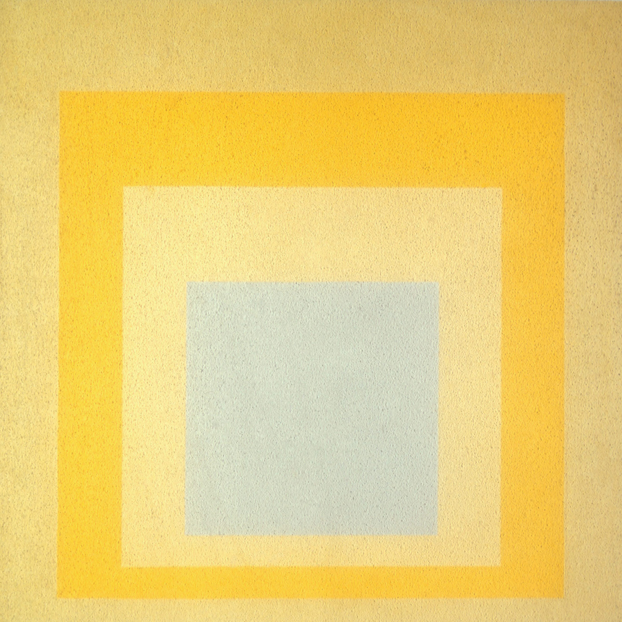 Josef Albers,   Homage to the Square: With Rays,  1959 //May 2017