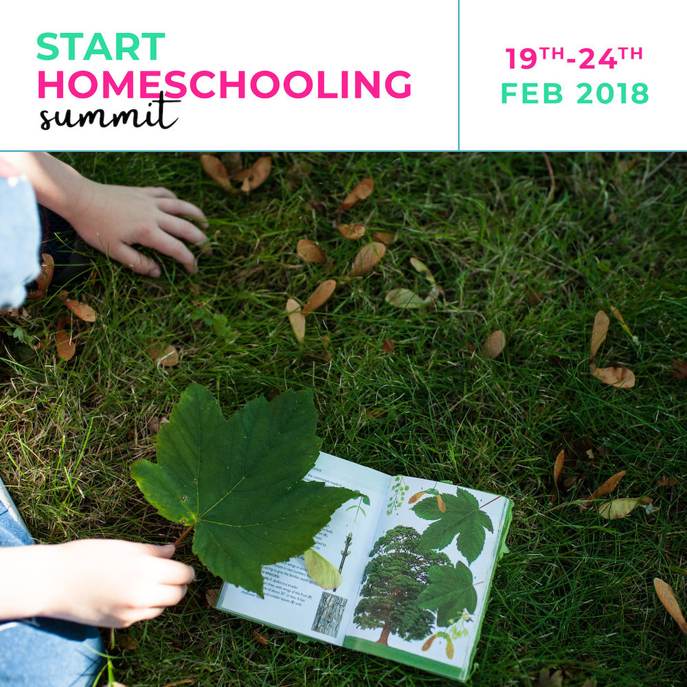 Start Homeschooling Summit – 29 presenters across 34 workshops over 6 days will cover just about everything to do with homeschooling, unschooling and everything in between. It's going to be huge.