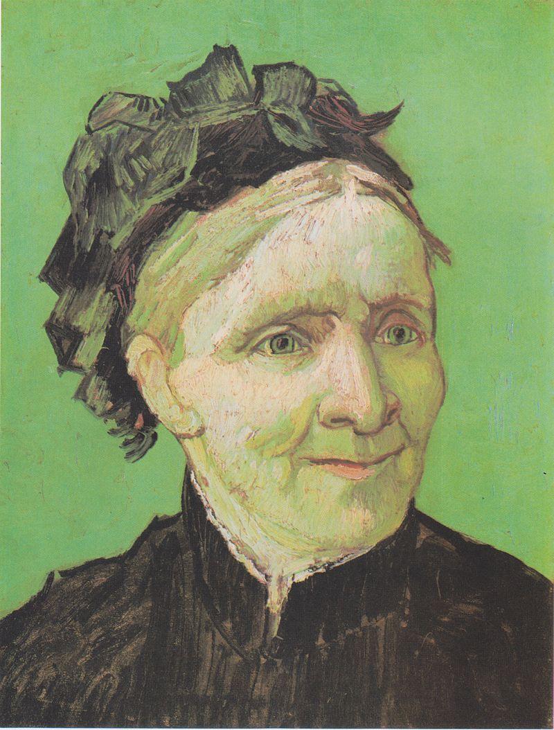 Vincent van Gogh ,  Portrait of the Artist's Mother , 1888