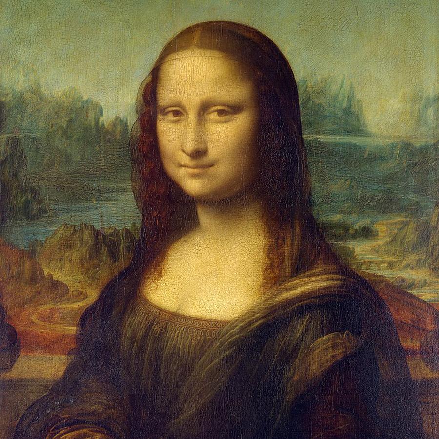 Leonardo da Vinci,   The Mona Lisa,  1503 //March 2018