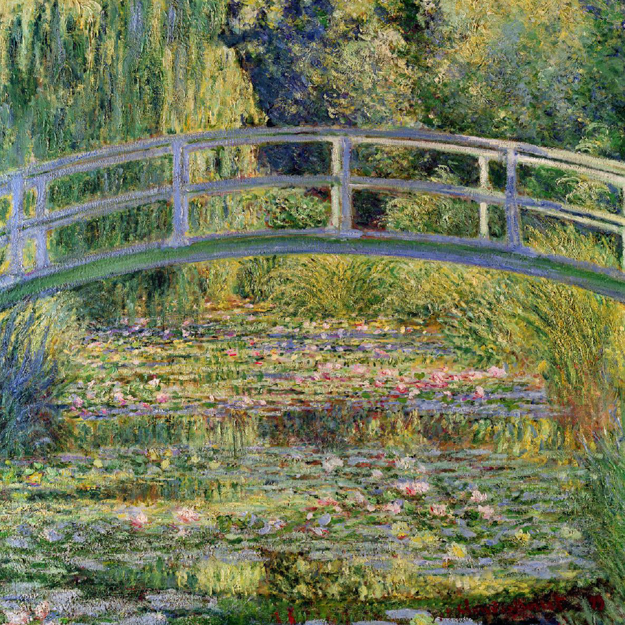 Claude Monet,   The Water-Lily Pond,  1899 // April 2018