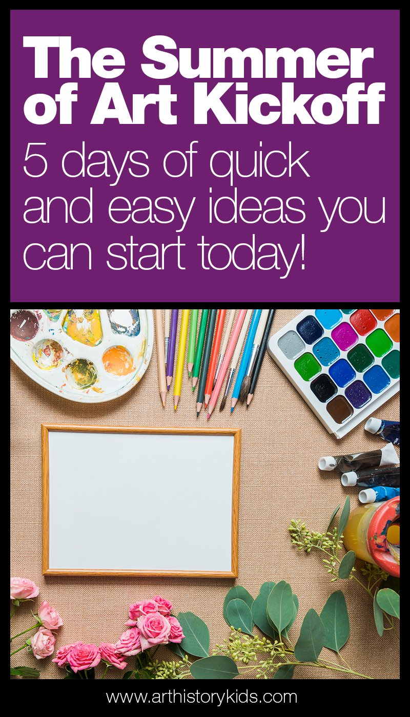 The Summer of Art Kickoff delivers five days of videos that will show you exactly how to easily cultivate a more creative lifestyle in your home this summer (and beyond)!