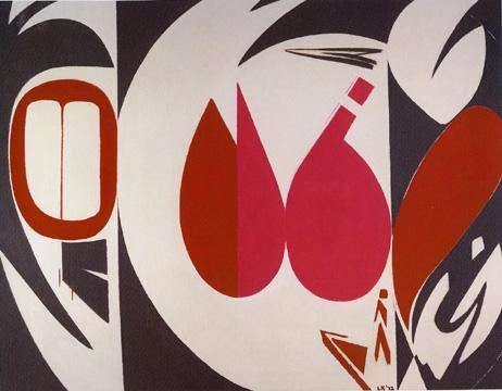 Lee Krasner,  Mysteries,  1972.©Pollock Krasner Foundation/Artists Rights Society (ARS), New York.
