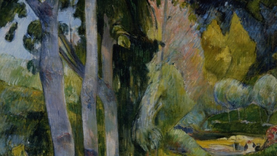 Trees in art: a look at three paintings -