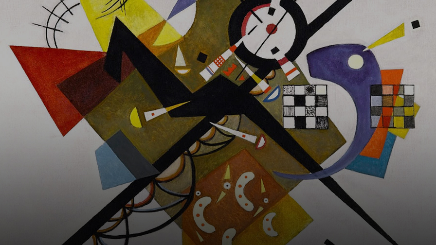 Kandinsky and abstract sensory explorations -