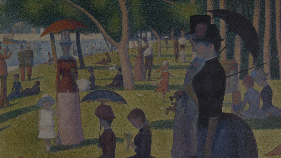 Seurat's 'A Sunday on la Grande Jatte' -