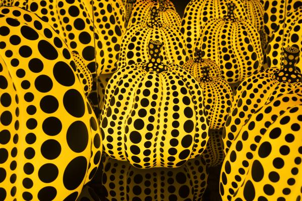 Yayoi Kusama,  All the Eternal Love I Have for the Pumpkins