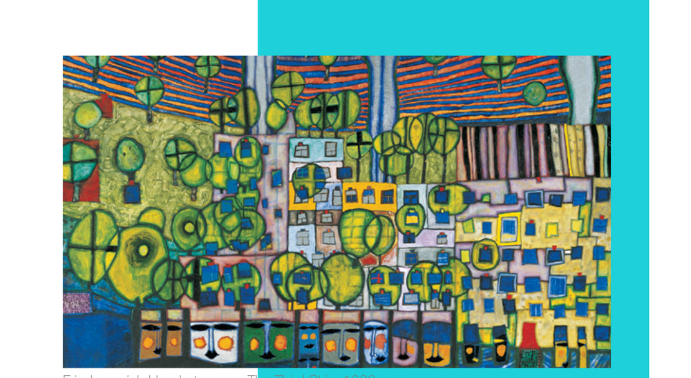 April - Friedensreich Hundertwasser -