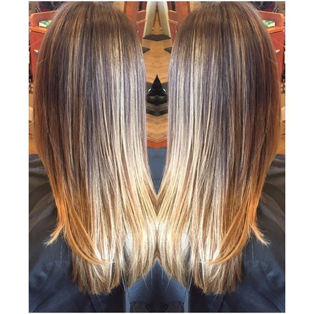 some balayage 🎨 & a fresh cut ✂️ by @dannegirl    call 845•849•2269 to book an appointment @eastcoastsalonny 💁🏼