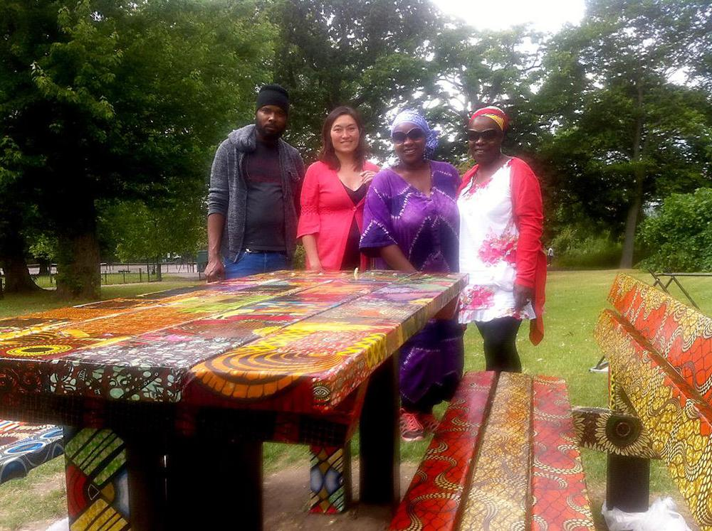 African Picnic Table artists.jpg