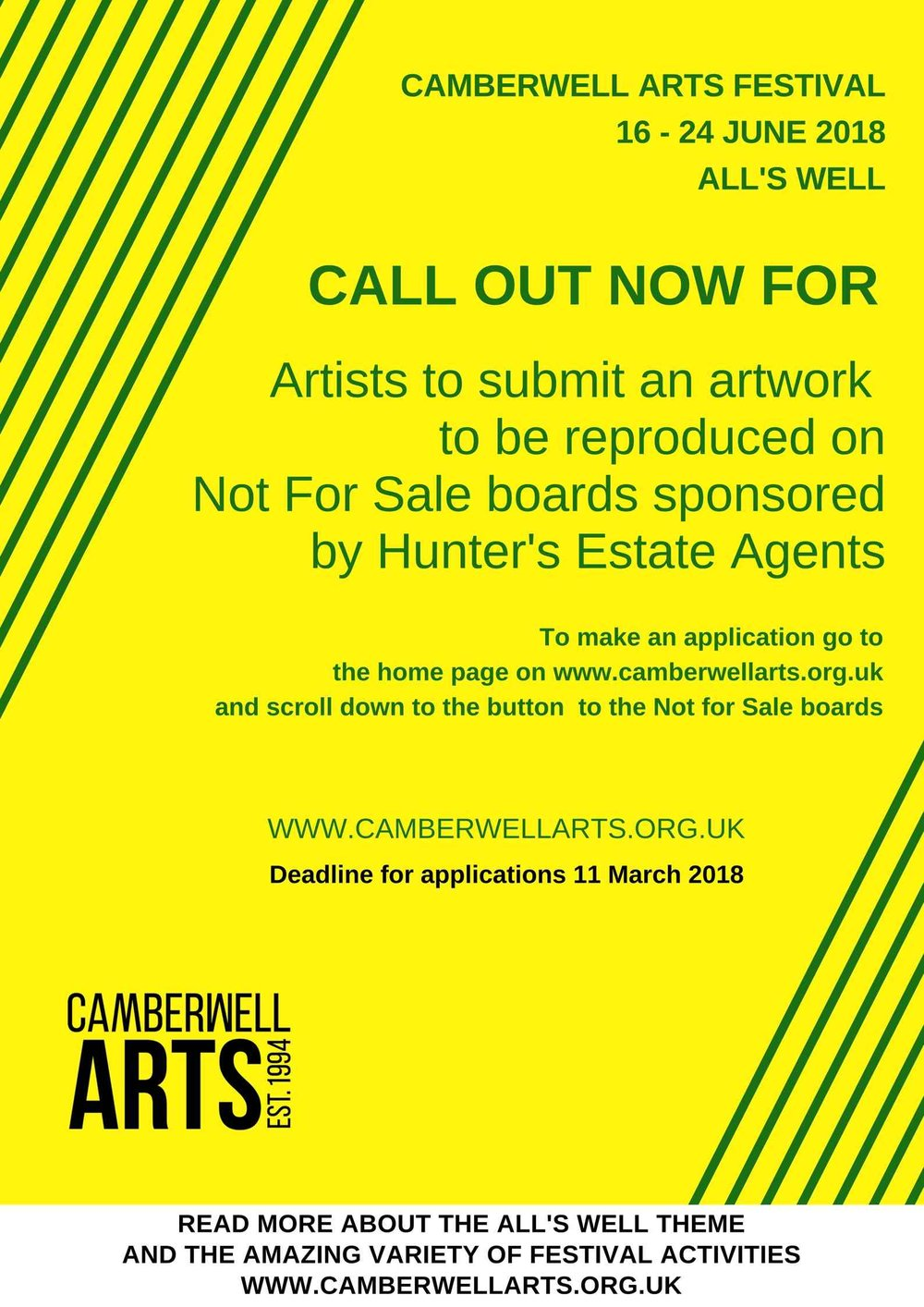 Click  HERE  for the application form to the Not For Sale boards