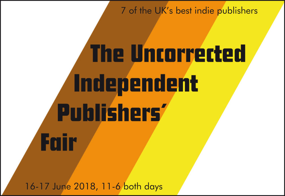 The Pelican and Tangerine Press welcome 7 of the most exciting and innovative independent publishers operating in the UK today.  Books, prints, limited editions, spoken word on vinyl available at special event prices.    Saturday 16 and Sunday 17 June FREE   The Peckham Pelican 11am - close