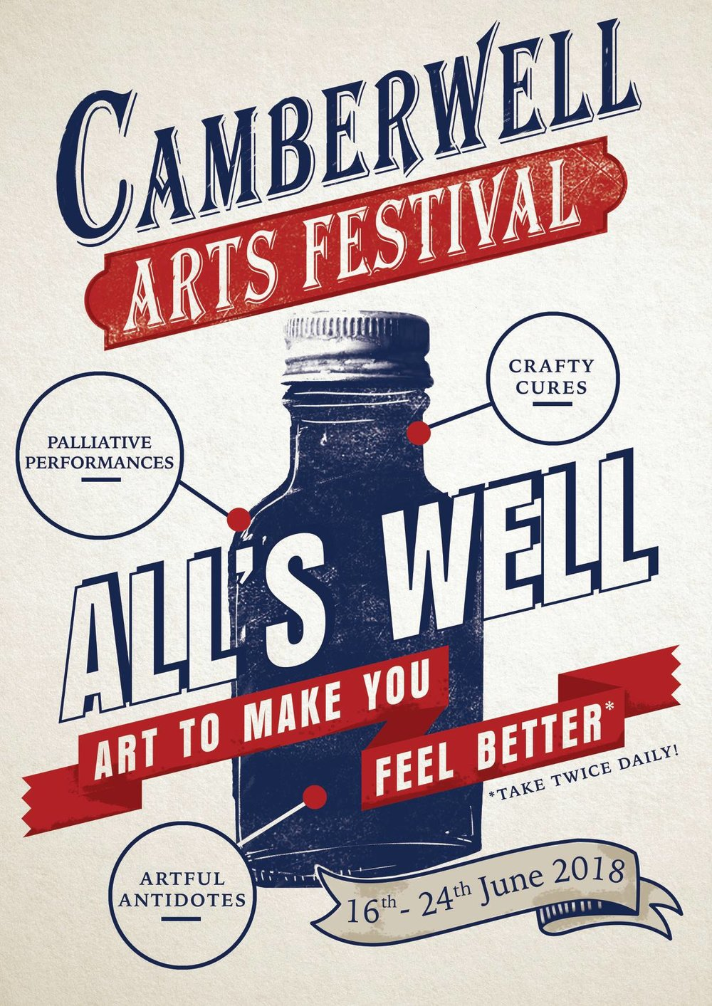 2018 Summer - Camberwell Arts Festival 2018 - All's Well