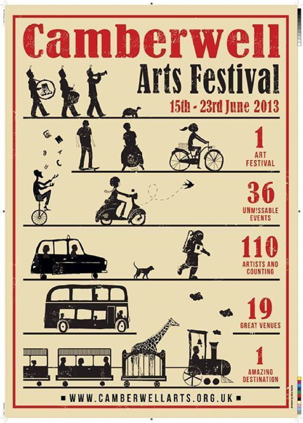 2013 Summer - Camberwell Arts Festival 2013