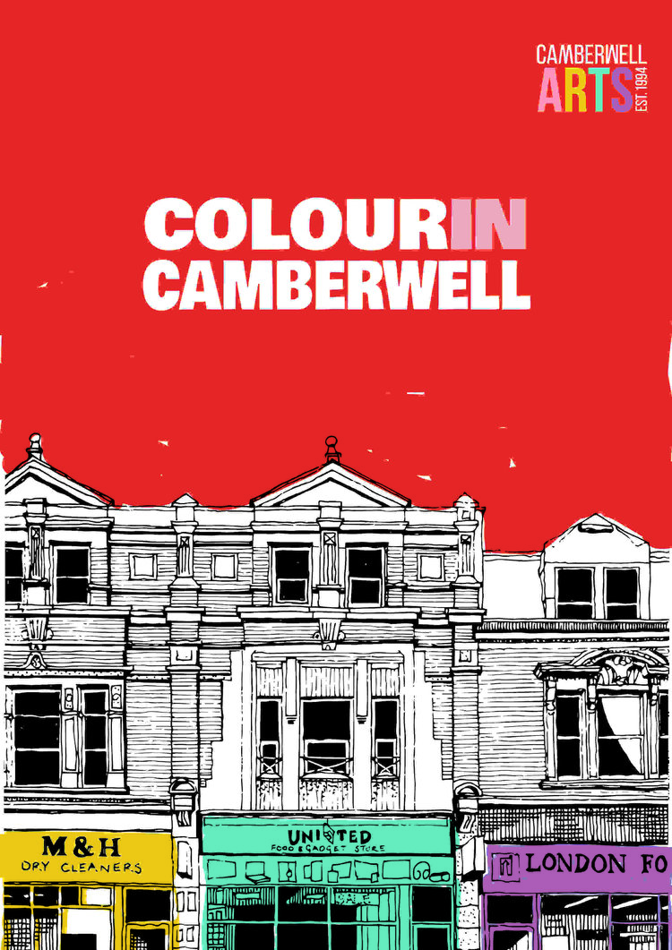 Colour in Camberwell - A unique colouring book celebrating 25 years of Creative Camberwell