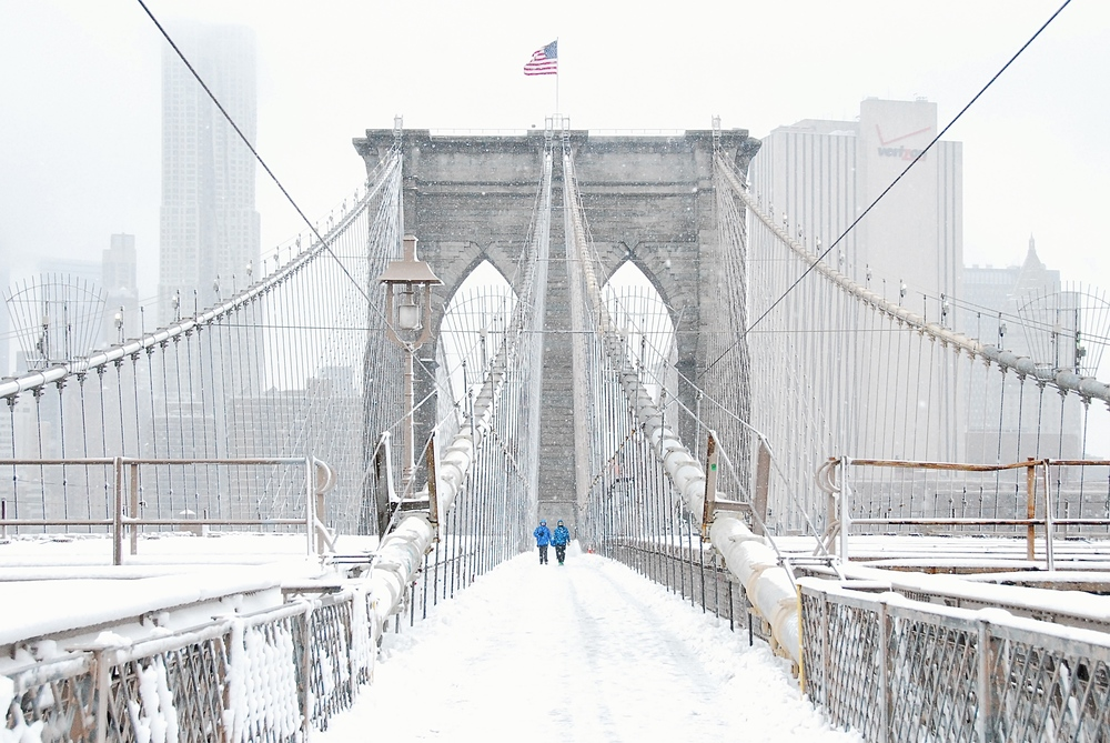Brooklyn Bridge, Brooklyn, NY - 2014