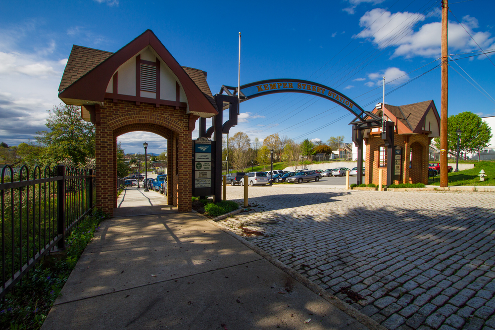 KEMPER STREET TRAIN STATION gateway - LYNCHBURG, VIRGINIA