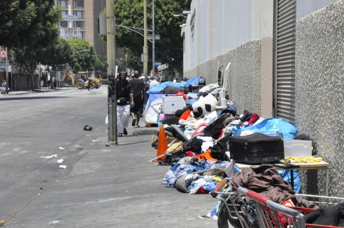 Soup Kitchen Skid Row