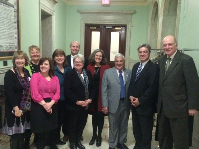 Members of PCHP meet with supportive legislators at State House