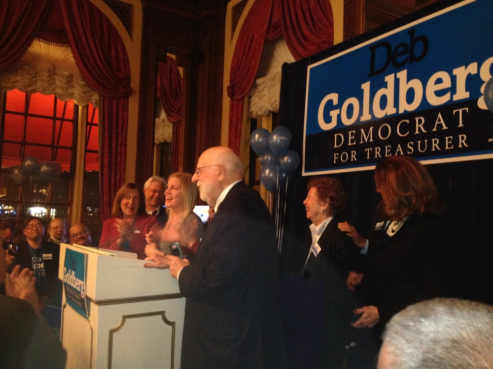 Celebrating the Election of State Treasurer Deb Goldberg