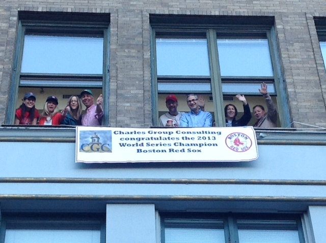 Charles Group Consulting and Friends Congratulate the Boston Red Sox