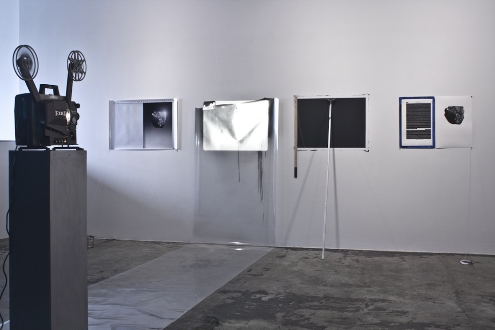 Blue Book, Moon Rock  2009 Installation View Thomas Erben Gallery