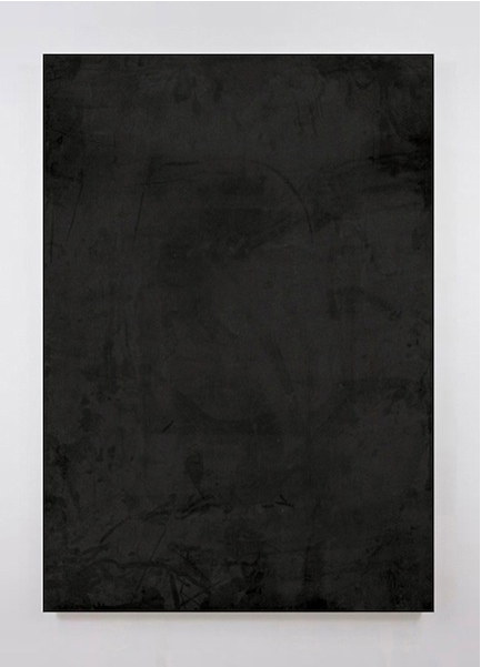 Dust   2014 Acrylic and urethane on aluminum 47 x 33 in/ 119.4 x 83.8 cm