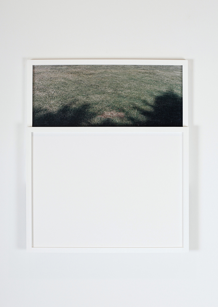 Carey Denniston  To what degree a stone is a stranger / To what degree it is withdrawing, (LH)     2012 C-prints and custom wood frames 26 x 24 x 2 in/ 66.1 x 61 x 5.1 cm
