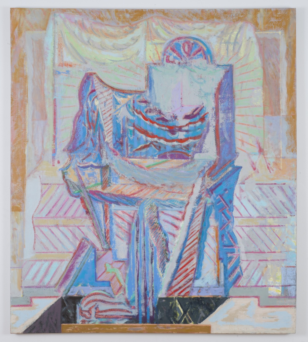 Tabernacle Trapple   2014 Oil on linen 58 x 50 in/ 147.3 x 127 cm