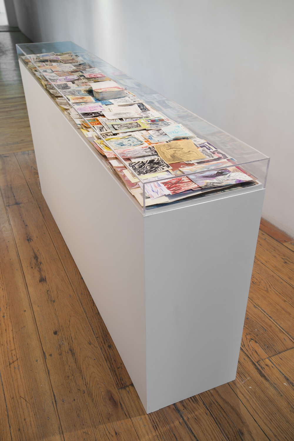 Origin of Pieces   2014 Assorted Drawings INSTALLATION VIEW