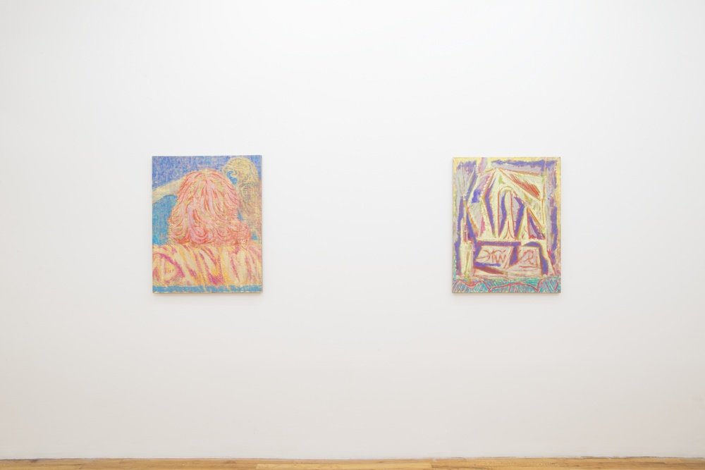 Installation View  Beggars Blanket  KANSAS