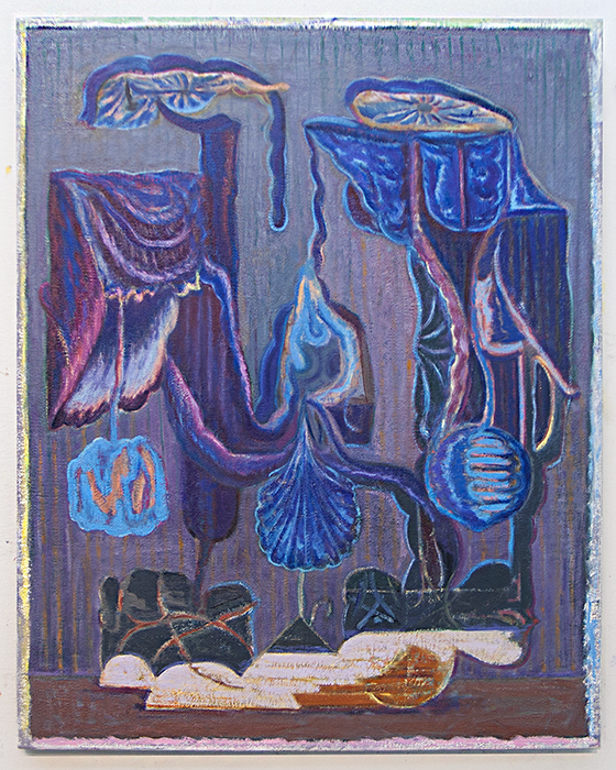 Dead or Alive   2012  Oil on linen  30 x 24 in/ 76.2 x 61 cm