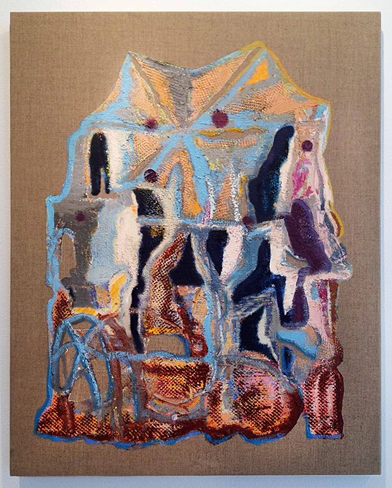 War-ehz   2012  Oil on linen  30 x 24 in/ 76.2 x 61 cm