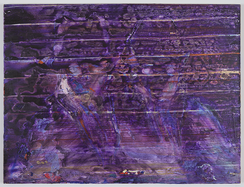 Primary Souls   2012  Acrylic on canvas  30 x 40 in/ 76.2 x 101.6 cm