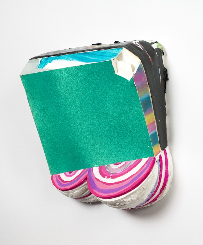 Tamara Zahaykevich  58008s  2011 Foamboard, Styrofoam, acrylic paint and paper mache 8 ¾ x 10 ¼ x 4 in/ 22.2 x 26 x 10cm