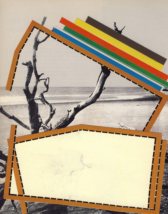 The World We Live In, 131   2006–2011 Collage on paper 10 x 8 in/ 25.4 x 20.3 cm EACH