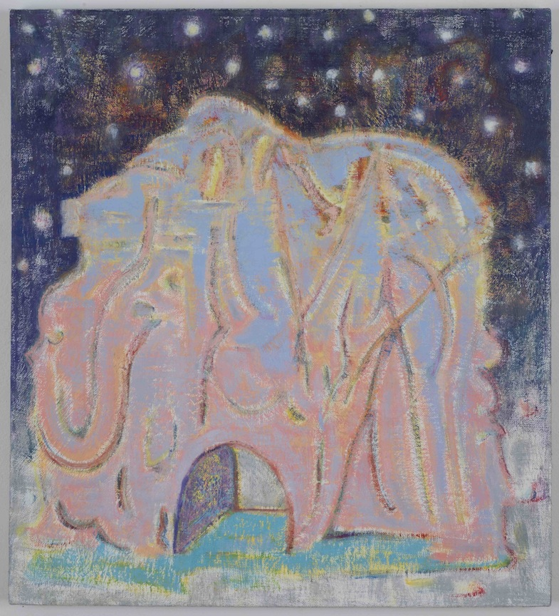 Elephant Mouse Hole   2012 Oil on linen 20 x 18 in/ 50.8 x 45.7 cm