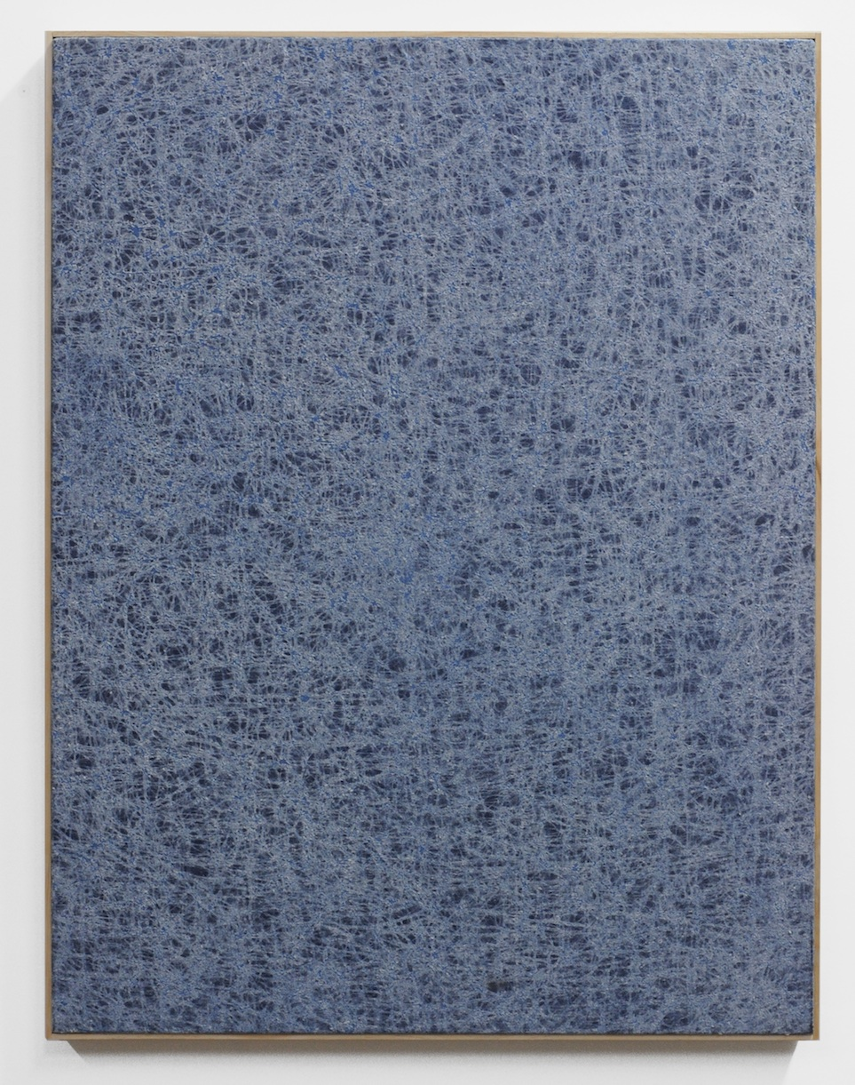 Jessica Sanders  Crumple A38 , 2014 Beeswax on stretched linen with artist frame 35 x 27 in/ 88.9 x 68.6 cm