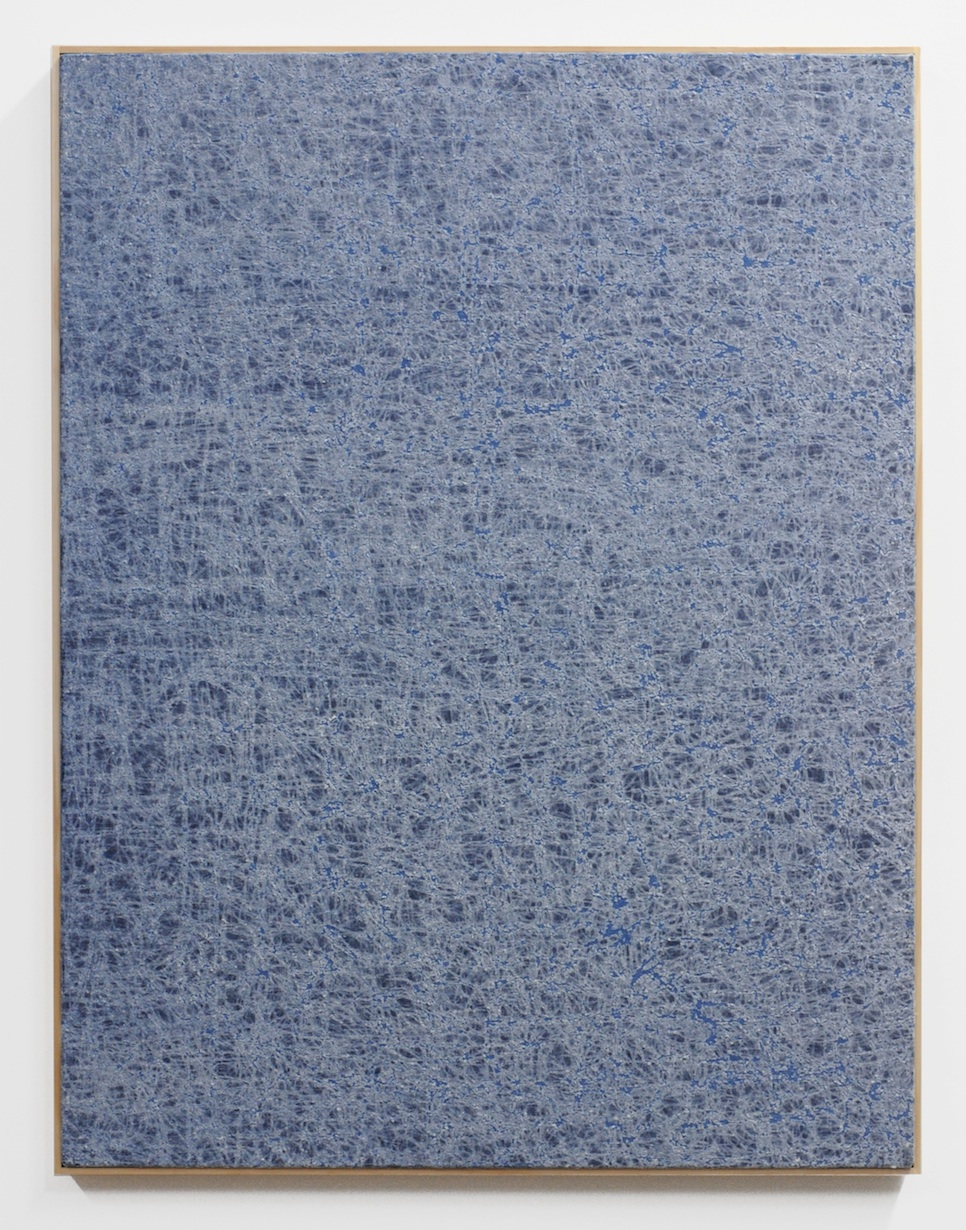 Jessica Sanders  Crumple A39 , 2014 Beeswax on stretched linen with artist frame 35 x 27 in/ 88.9 x 68.6 cm