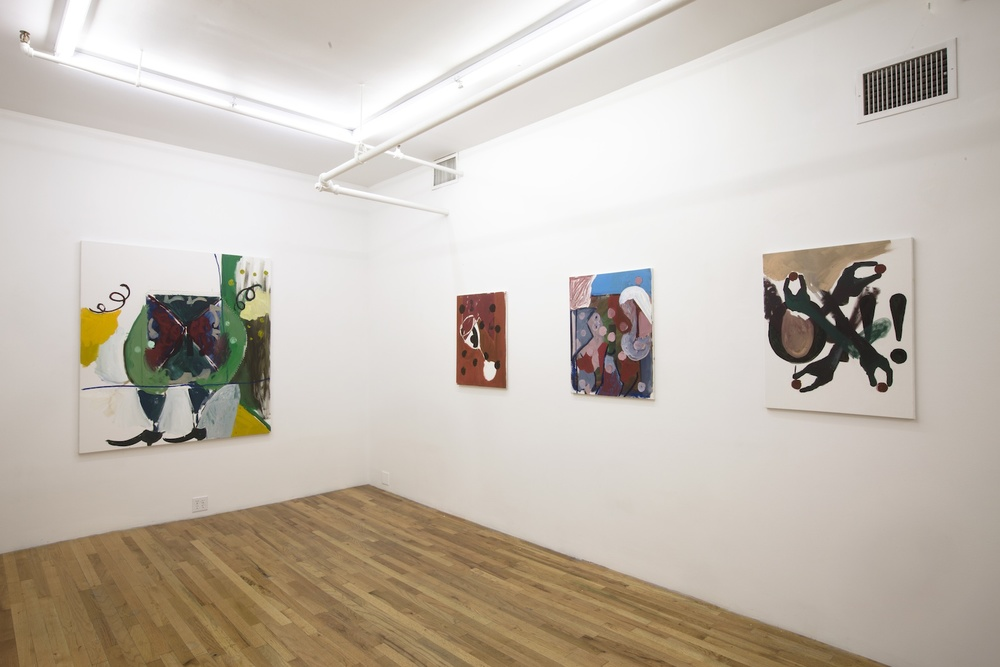 Installation View  Tomer Aluf:  Thirteen   KANSAS