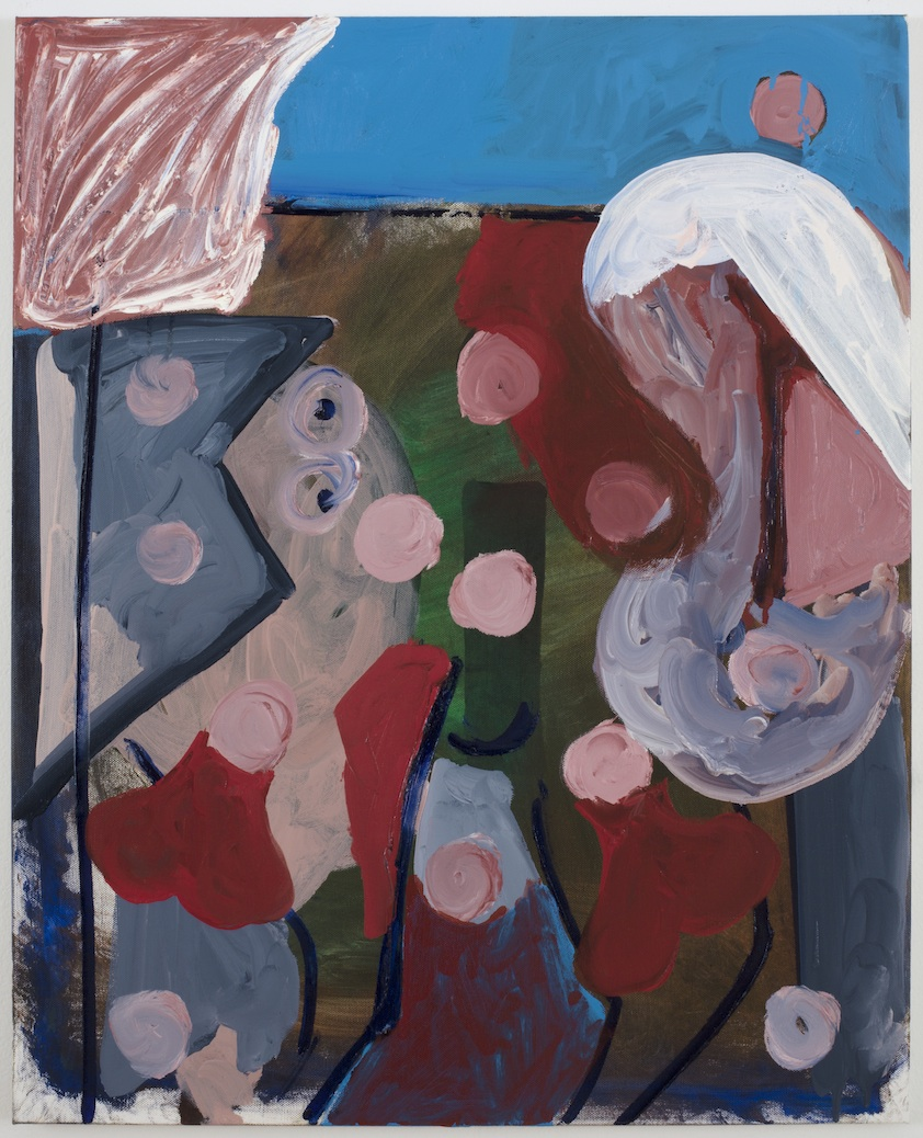 Untitled   2014  Oil on canvas  30 x 24 in/ 76.2 x 61 cm