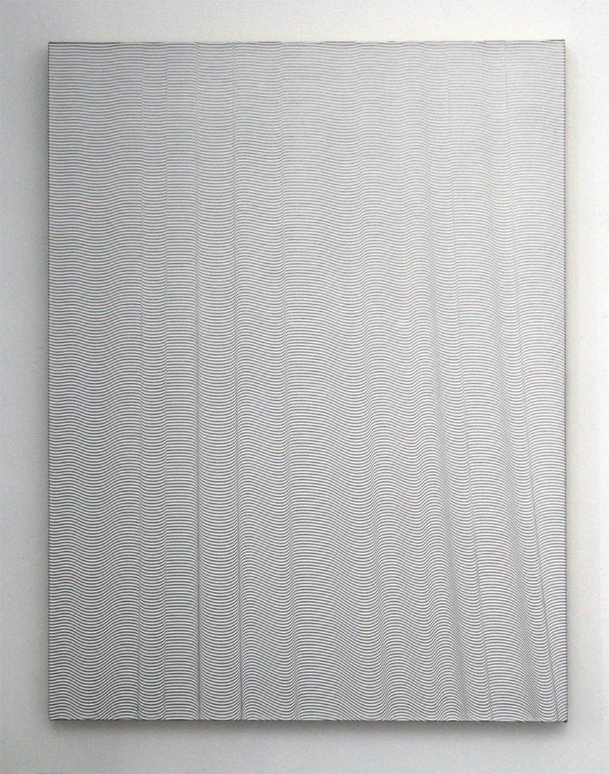 Curtain   2014  Acrylic on canvas  40 x 30 in/ 101.6 x 76.2 cm