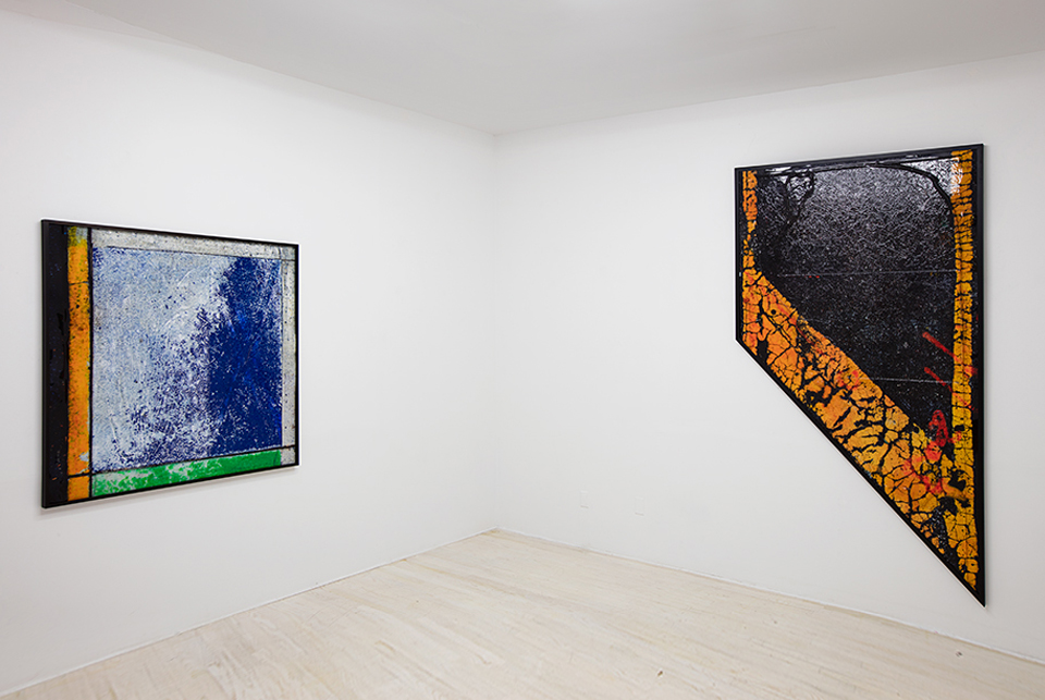 Installation View Ethan Greenbaum:  Chambers  Halsey McKay Gallery