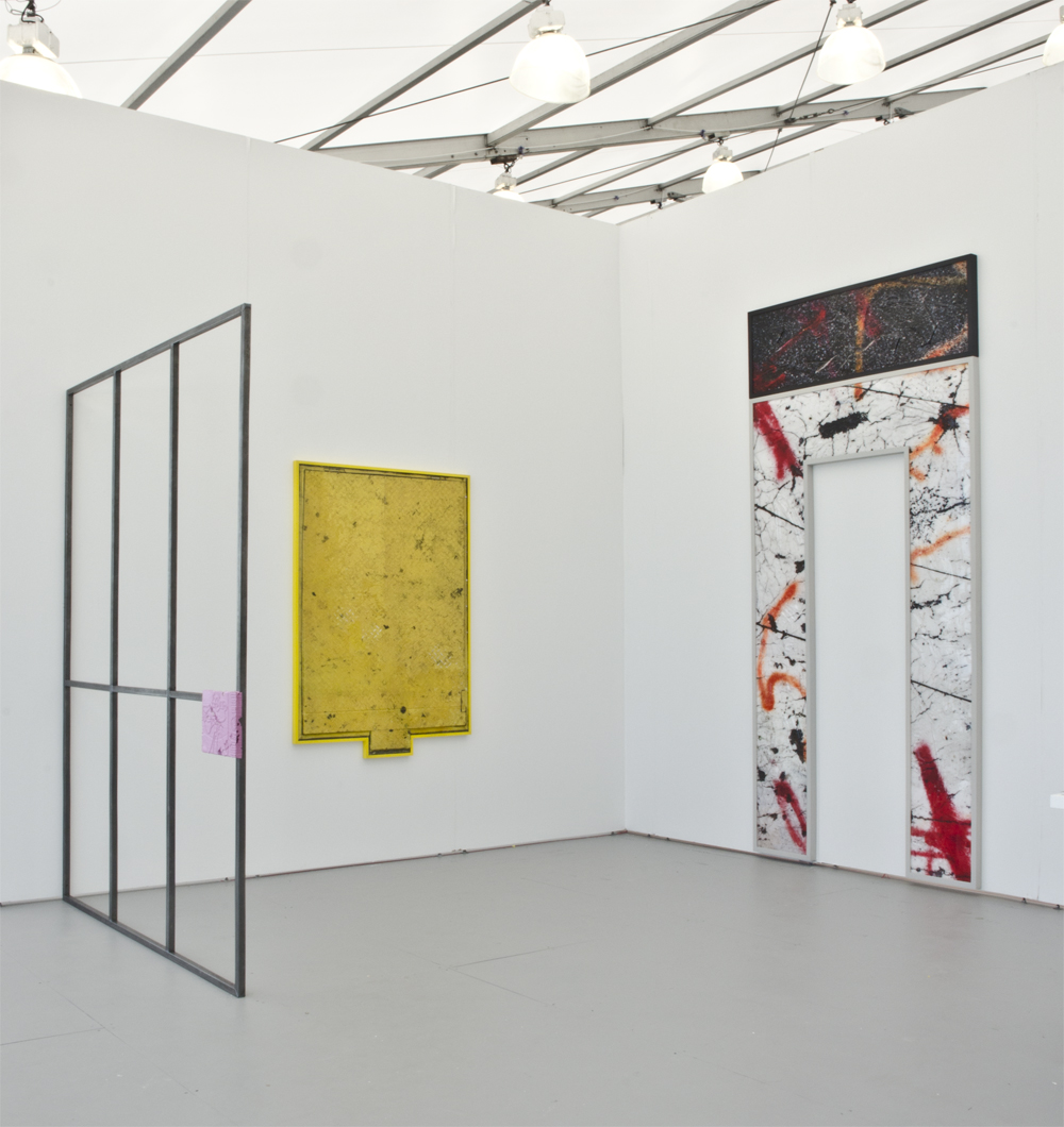 Installation View Ethan Greenbaum UNTITLED. Miami Beach
