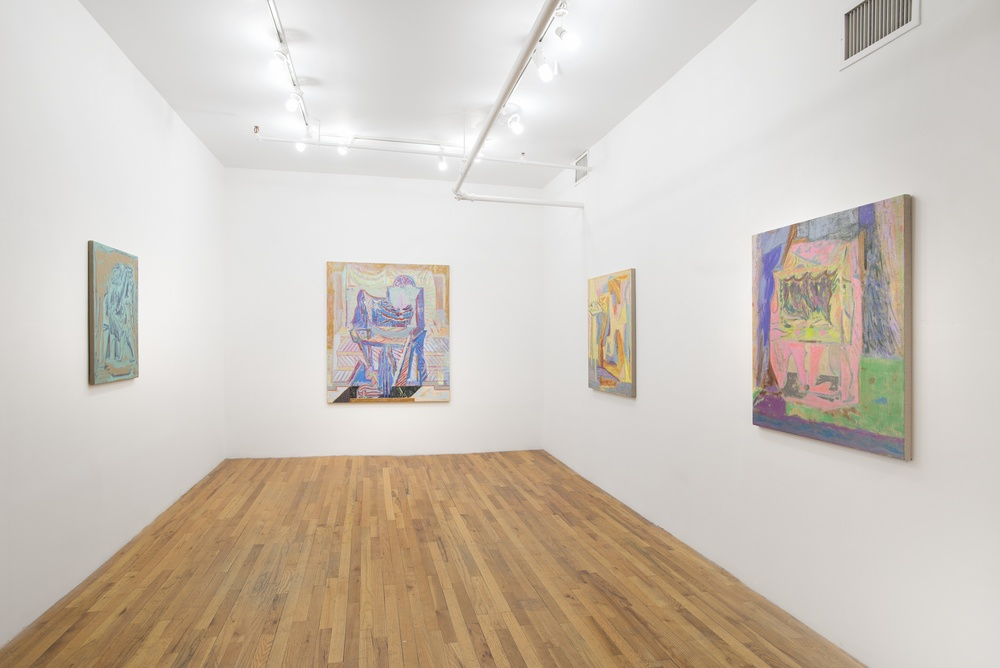 Installation View  Michael Berryhill:  Beggars Blanket   KANSAS