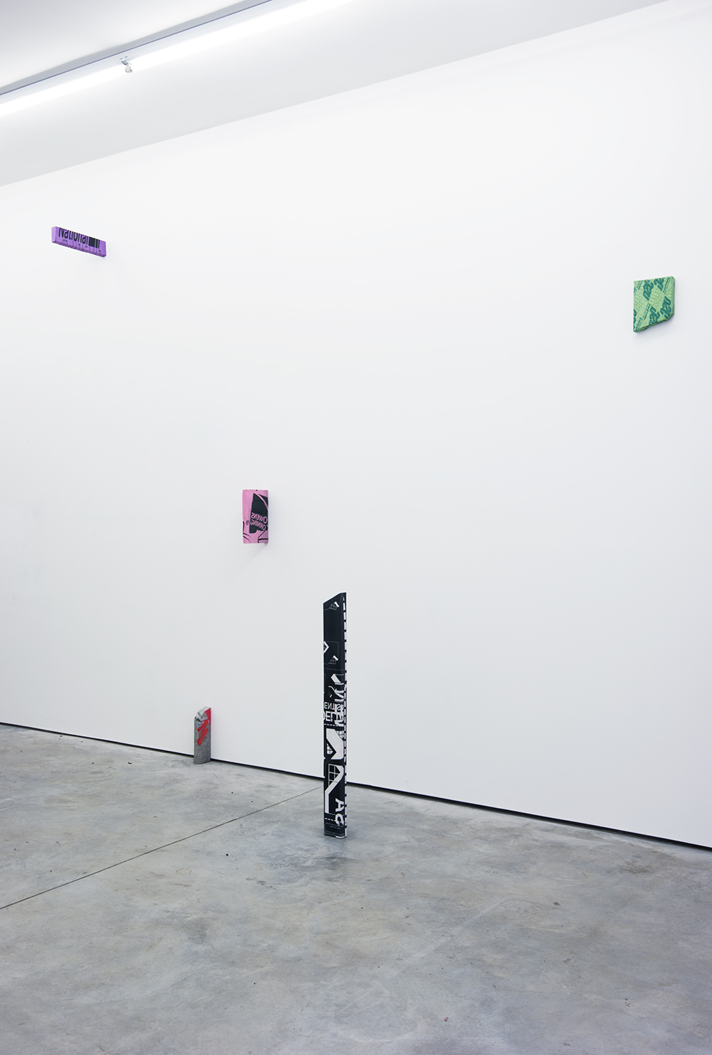 Installation View  Ethan Greenbaum:  Flats   KANSAS