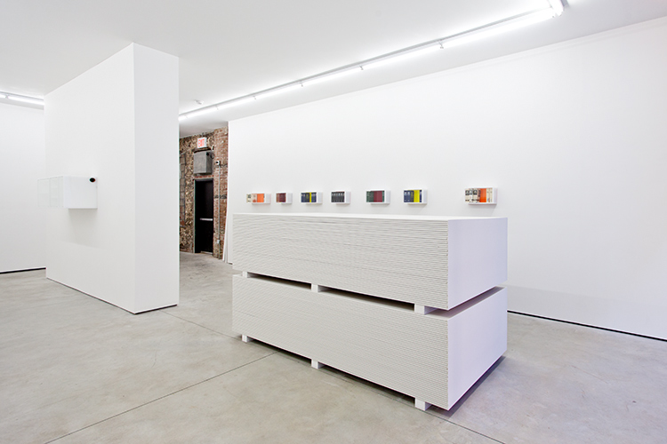 Installation view Clay Ketter:  Recalcitrations  KANSAS