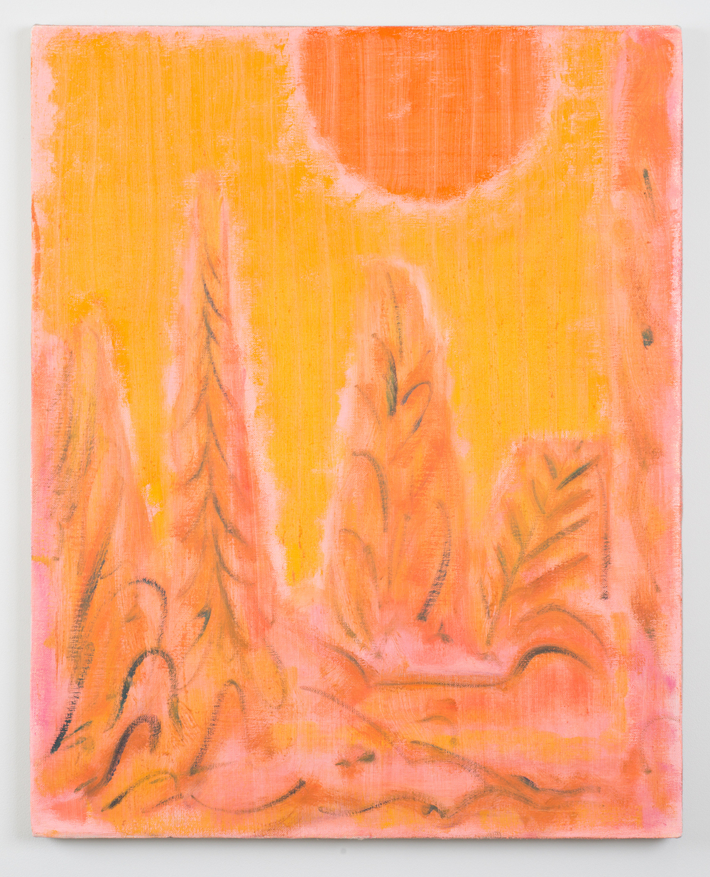 Burnt by the Sun   2016 Oil on linen 30 x 24 in / 76.2 x 60.9 cm